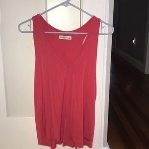 Pink Abercrombie and Fitch tank top